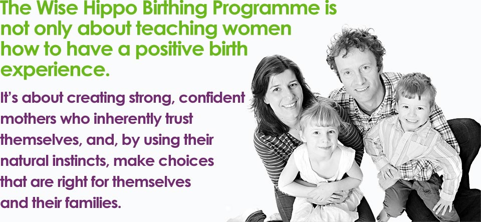 The Wise Hippo Hypnobirthing Programme - Hope Valley with Lucy Atkinson